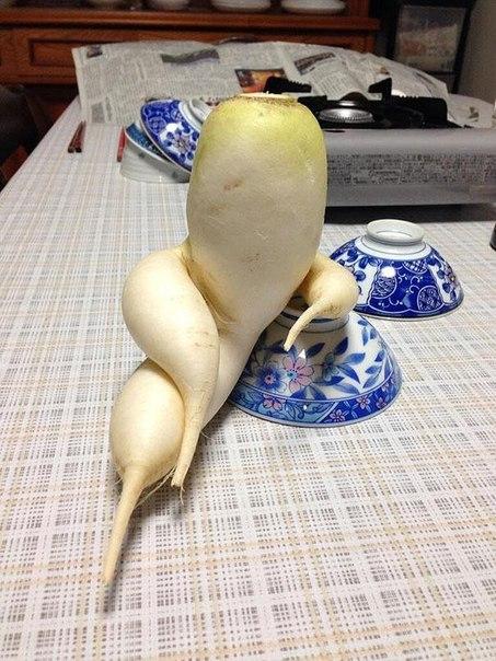 Быть овощем уже не модно?