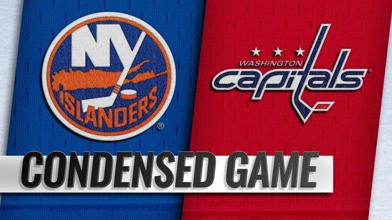01/18/19 Condensed Game: Islanders @ Capitals