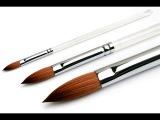 Акриловая кисть. Полезные советы (Часть 4/5) / Acrylic brush. Useful advices