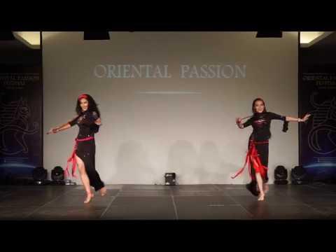 Kadia her student Warda Saidi (Professional group)8th Oriental Passion Greece 2017