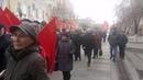 Шествие и митинг левых сил в Пензе 5 ноября 2018 г