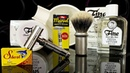 💈 Бритьё. Впервые Fine Marvel Safety Razor, Tatara Masamune Brush, Fine Shaving Soap, After Shave
