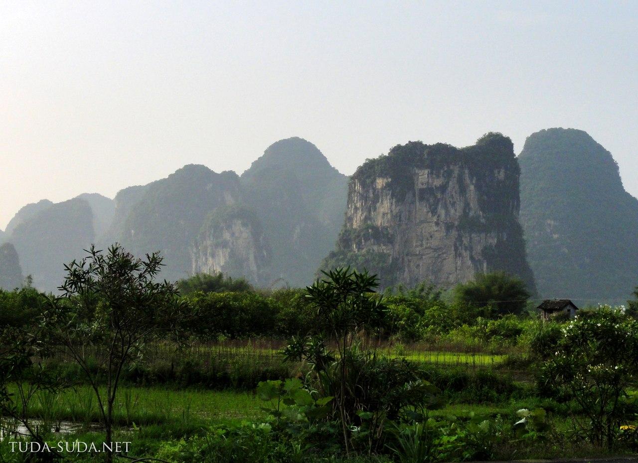Карстовые горы, Китай