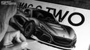 Как нарисовать спорткар RIMAC C_TWO / Рисунок простыми карандашами / ISP DRAWING