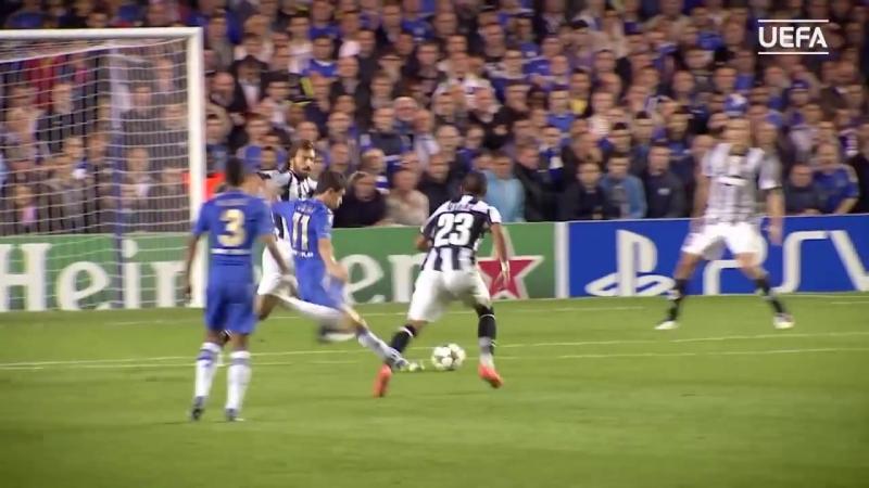 Oscar scores stunning goal for Chelsea v Juventus in 2012