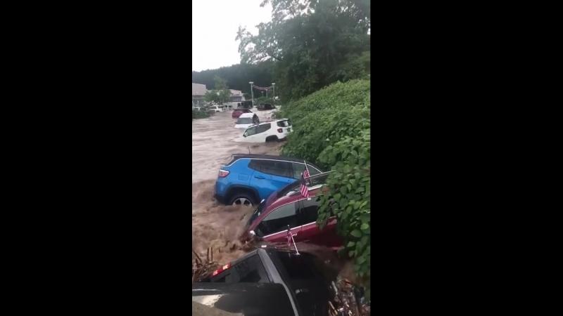 Наводнение в Америке