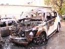 Месть или совпадение - во дворе автоледи задавившей людей на лестнице ТЦ сожжены 5 авто!