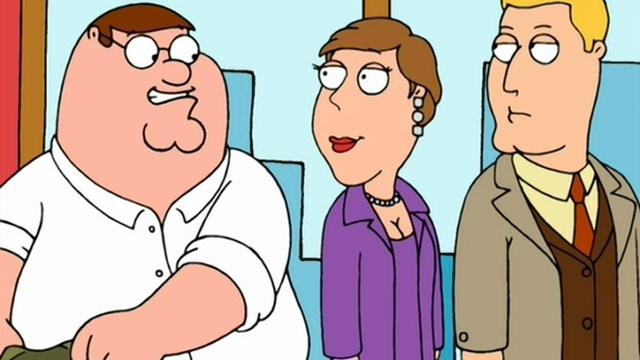 Family Guy Гриффины 2 Сезон 8 Серия Я Питер и слушайте меня Ren TV