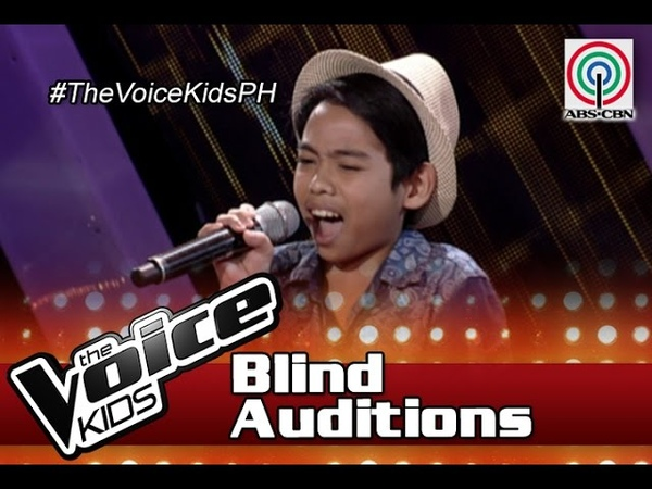 The Voice Kids Philippines Blind Auditions 2016 It Will Rain by Al Vincent