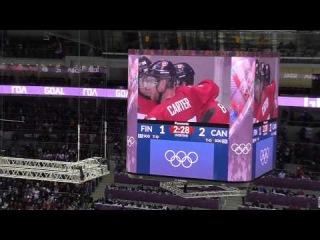 Хоккей Финляндия - Канада, MySochi2014