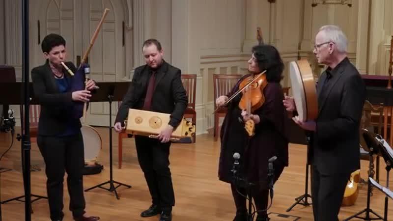 Leonardo da Vinci: La Gelosia (Domenico da Piacenza), Bagpipes Hurdy Gurdy, Voices of Music 4K