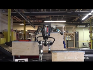 Паркур от робота