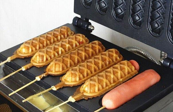 Устройство для приготовления хрустящих французских хот-догов