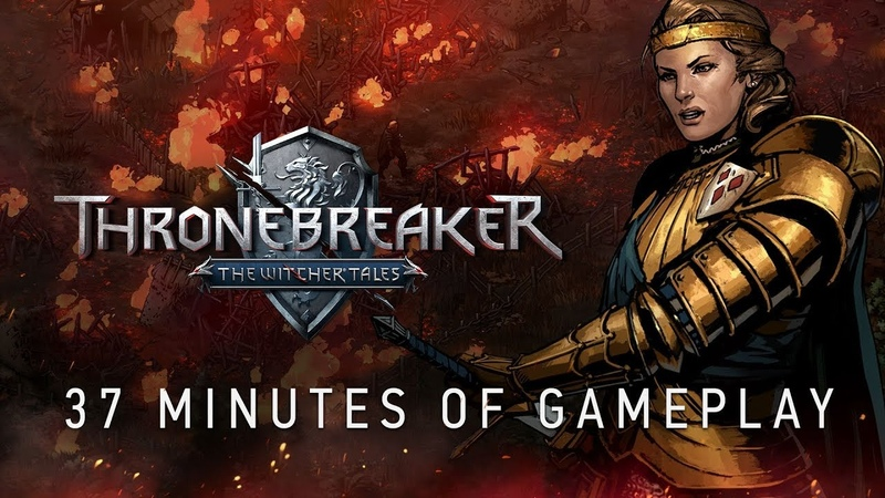Thronebreaker The Witcher Tales | 37-minute Gameplay Walkthrough