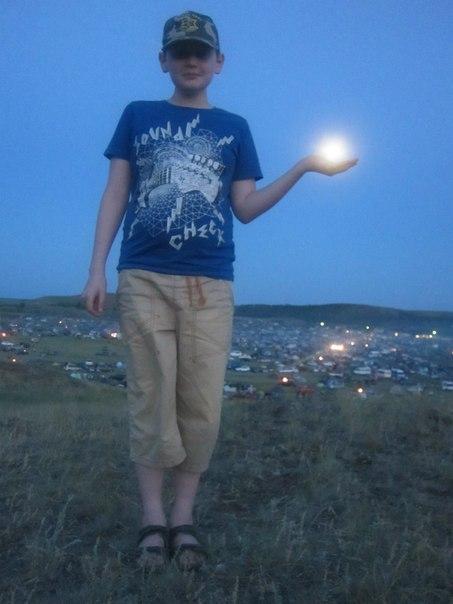 Аркаим, луна наладони