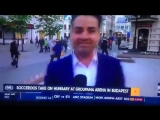 Шок видео! На журналиста из Австралии напал гопник в самом центре Казани