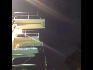 Kobe's 40- foot pool jump