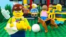 LEGO CityBabysitting FailSTOP MOTION LEGO Park Fun Day with Friends| LEGO City | By Billy Bricks