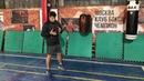 Системная ошибка при постановке правой ноги и стопы у правши в боксе