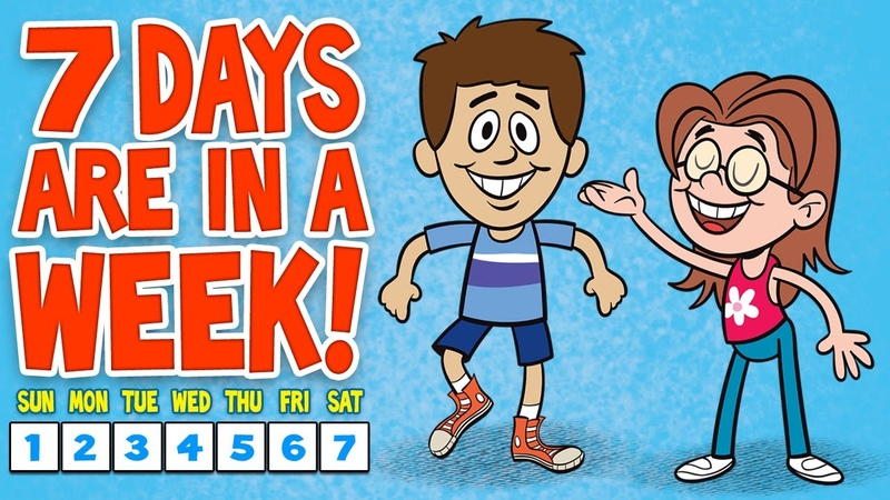 Days of the Week Song - 7 Days of the Week - Childrens Songs by The Learning Station