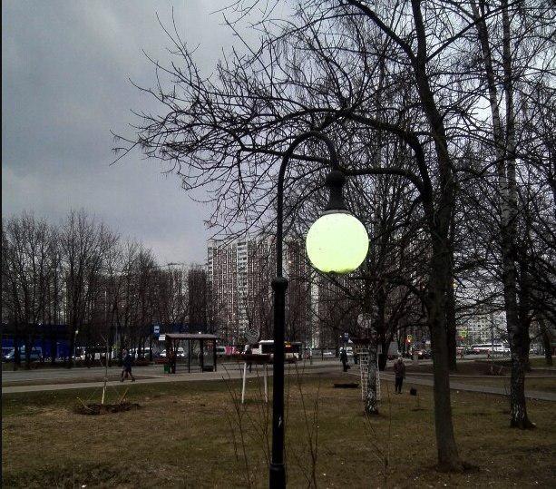 Освещение восстановили во дворе на Череповецкой