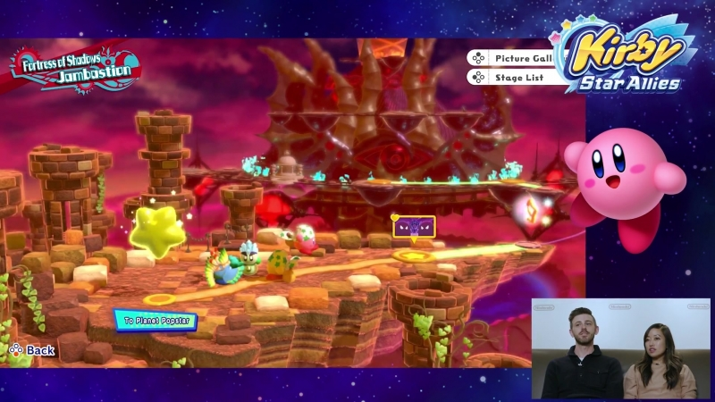 Kirby Star Allies New Levels Boss Fight Co op Gameplay Nintendo Minute