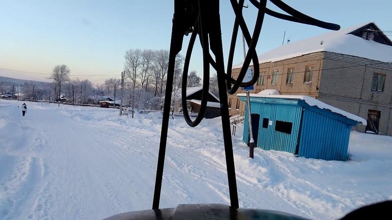 Урал лесовоз Северный Колчим Красновишерский район