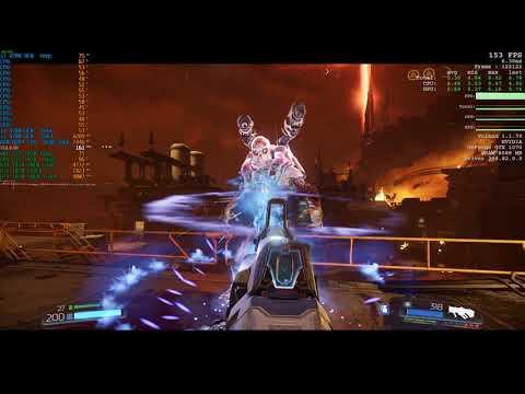 Doom 2016 on gtx 1070 full hd test \ i7 8700 16gb ram 2666