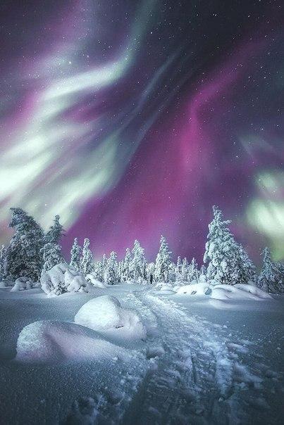 Полярное сияние, Норвегия