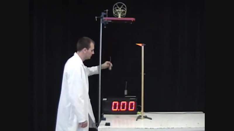 Машина Атвуда, MIT Physics Demo, Low Friction Atwood Machine