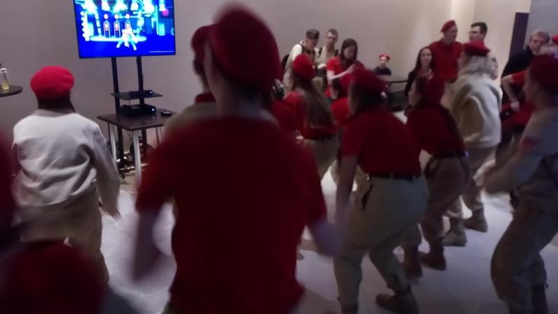 Юнармия 16.12.17 just dance