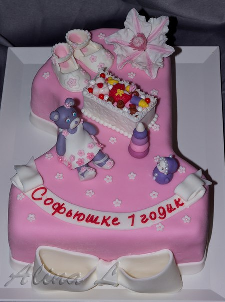 необходимо красивый торт на годик девочке фото данном случае
