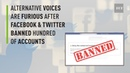'Living in Orwell's 1984' - Alternative voices react to Facebook and Twitter Crackdown