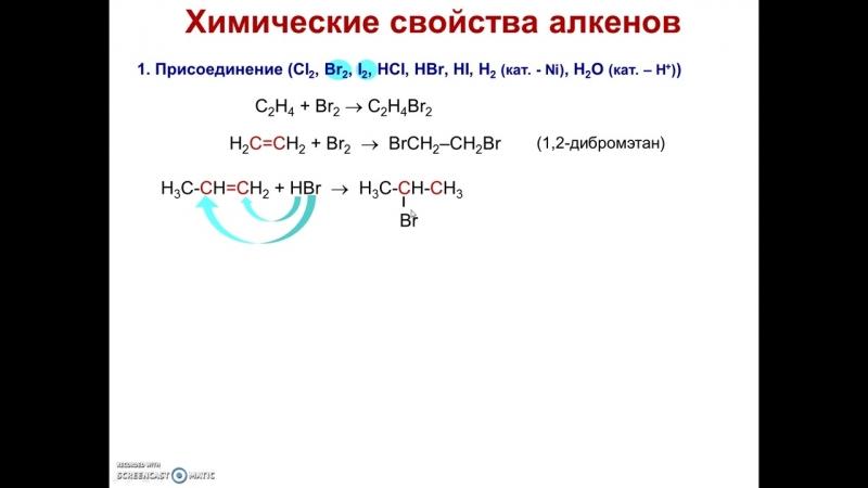 [Елена Пономарева] Непредельные углеводороды (алкены)