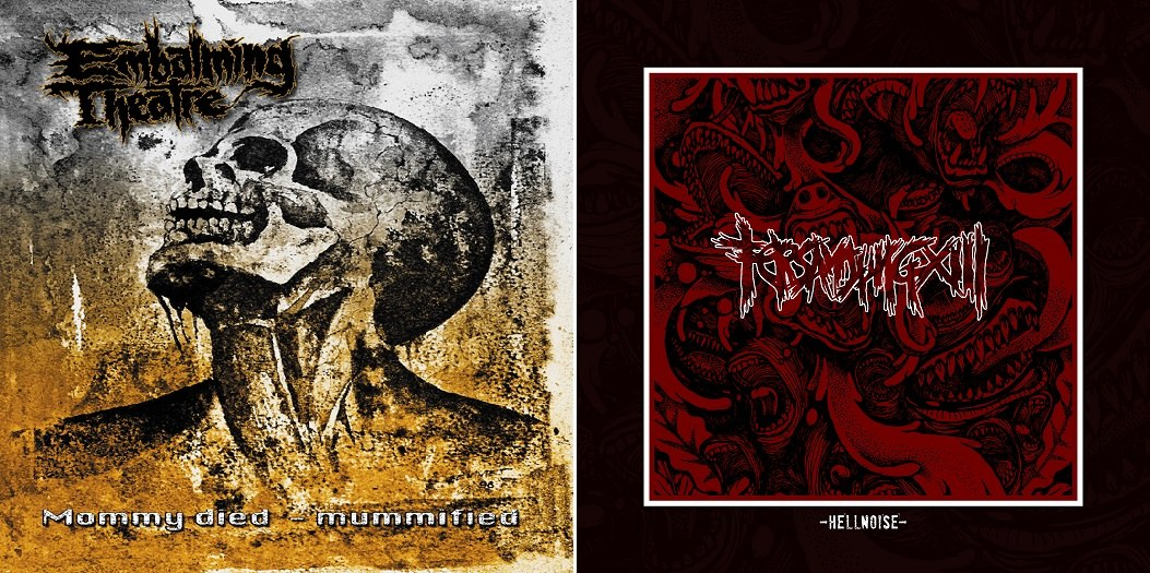 Embalming Theatre & Tersanjung 13 - Mommy Died&Mummified & Hellnoise (Split) (2013)