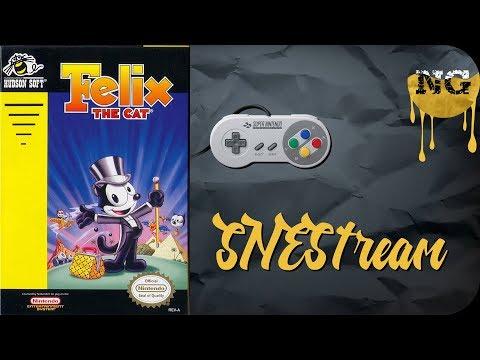 SNEStream • 8 bit • Felix the Cat (1992)