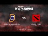 Digital Chaos SA против Youth Fury, Третья карта, SA квалификация SL i-League Invitational S3
