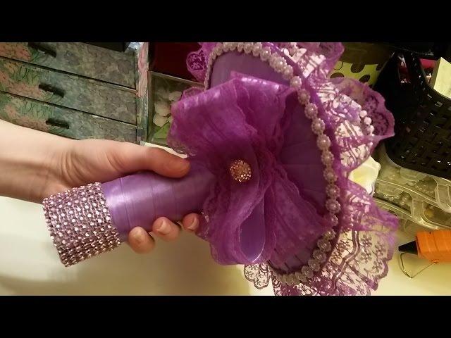 Как сделать Свадебный Букет своими руками / Wedding bouquet ✔ ℳAℛίℕℰ DIY✔