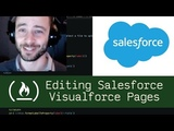 Editing Salesforce Visualforce Pages - Live Coding with Jesse