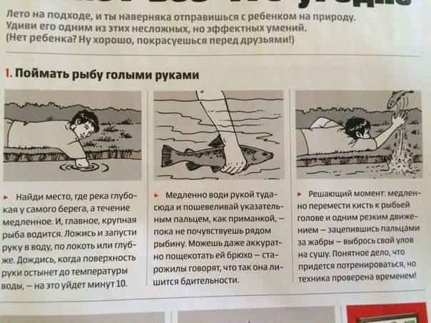 как поймать рыбу руками автобус Ростов-на-Дону