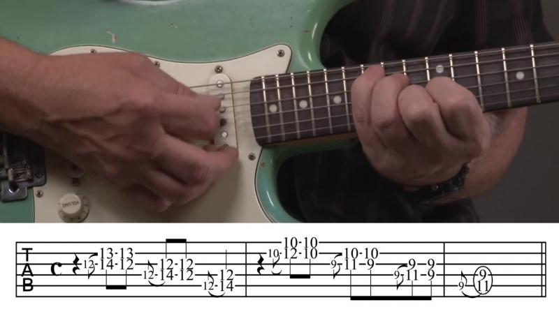 Jody Worrell - Jimi Hendrix Double Stop Guitar Lesson