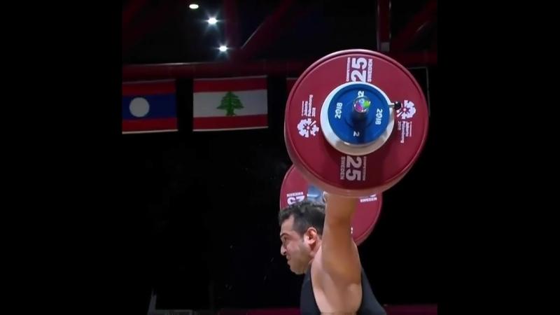 Sohrab Moradi 189 kg