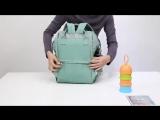 сумка-рюкзак-для-мамы-трансформер-на-коляску-путешествия (1)