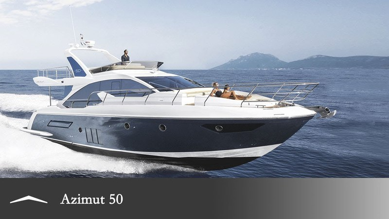 Azimut 50 reinventing the luxury yacht.