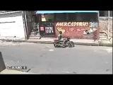 Попытка ограбить магазин в Бразилии