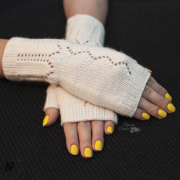 优雅的针织手套 - maomao - 我随心动