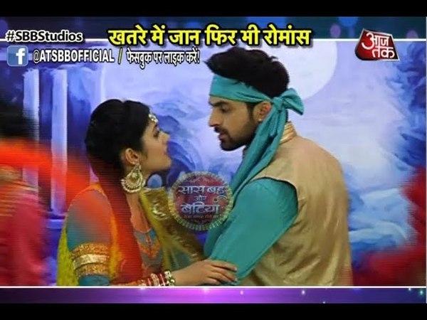 Kaliren Meera-Vivaan Становятся Sohni-Mahiwal и учавствуют в конкурсе, чтобы спастись от негодяев Ромы😈