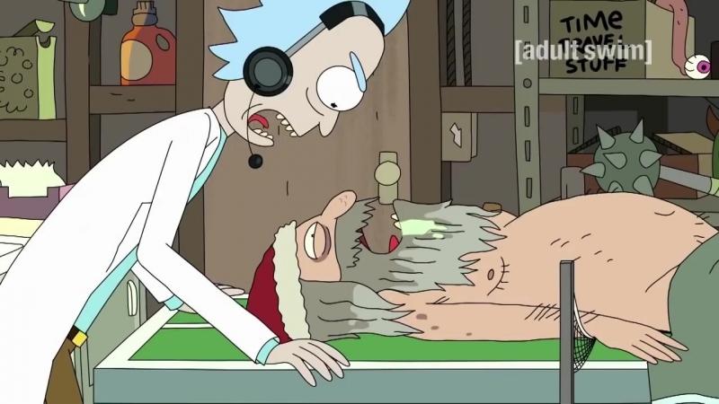Rick and Morty Рик и Морти 1 сезон 3 серия озвучка Талурдук
