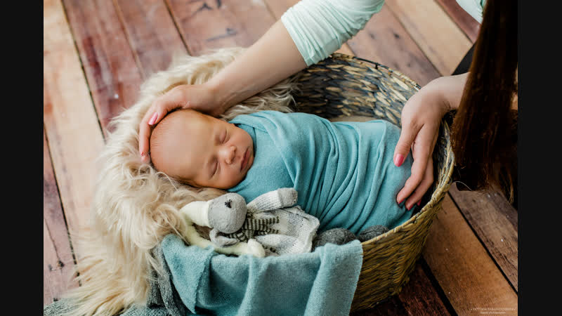 Тёмик. Newborn photosession