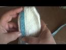Как связать варежки на двух спицах How to knit mittens on two needles1